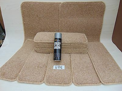 Stair pads / treads 17 off and 2 Big Mats with a FREE can of SPRAY GLUE  (688-4)