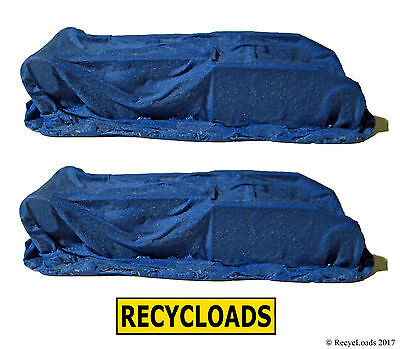 BLUE Tarped Covered Machinery TWIN PACK Model Railway Railroad HO OO Scale Gauge