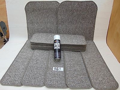 Stair pads 60 cm Wide 15 off and 2 Big Mats with a FREE can of SPRAY GLUE #881-4