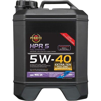 PENRITE Full Synthetic HPR 5 5W-40 10 litre