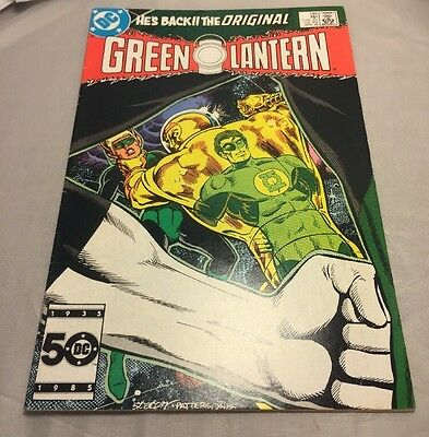 Green Lantern #199. Hal Jordan Returns To Title As Corps Member. DC. Very Fine.