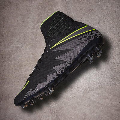 UK SIZE 10 Nike Hypervenom Phantom II FG Mens Pro Ankle Sock Football Boots