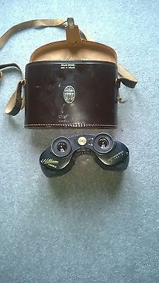 Vintage Hilkinson Lincoln Fully Coated Optics Ultra V Binocular  and case