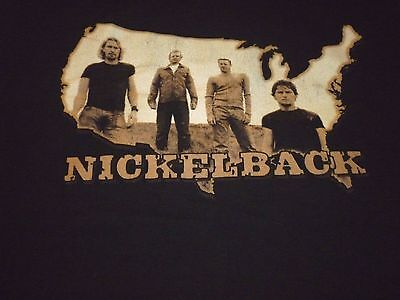 Nickelback Tour Shirt ( Used Size XXL )  Very Good Condition!!!