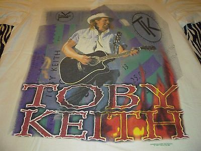 Toby Keith Vintage Tour Shirt ( Used Size L ) Very Good Condition!!!