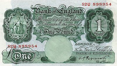 Peppiatt. 1934  £1 Green B238
