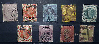 A collection Great Britain stamps of Queen Victoria, Used.#18.
