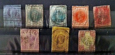 A collection Great Britain stamps of Queen Victoria, Used.#20.
