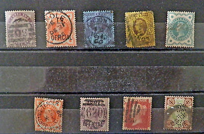 A collection Great Britain stamps of Queen Victoria, Used.#22.