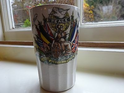 Commemorative 1st WW Booths silicon china beaker.