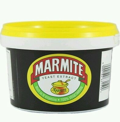 Britain's Favourite MARMITE Large 600g Catering Tub Best Taste Ever..