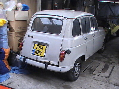 Renault 4 lhd classic