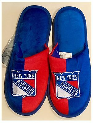 New York Rangers NHL Logo Slippers
