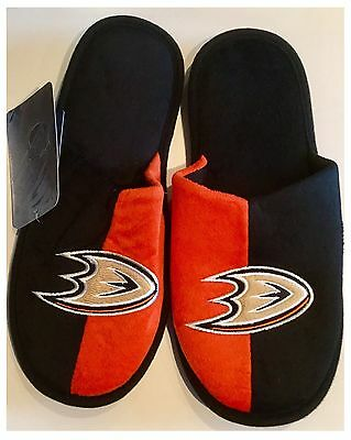 Anaheim Ducks NHL Logo Slippers