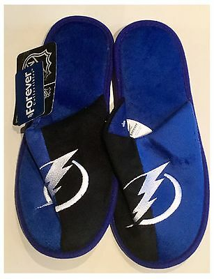 Tampa Bay Lightning NHL Logo Slippers