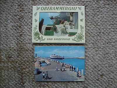 Souvenir Pictures of Ostend and Oberammergau
