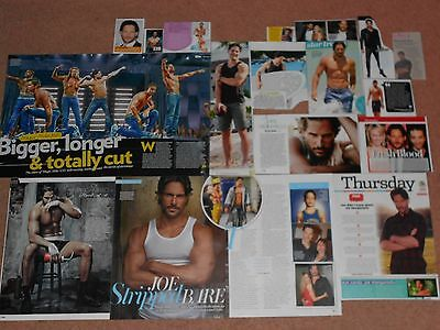 20- JOE MANGANIELLO Magazine Clippings