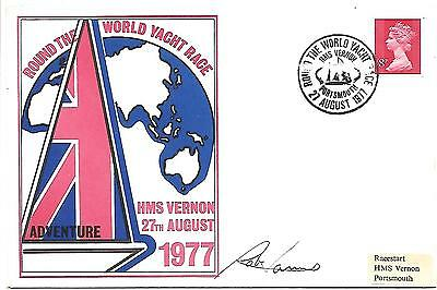 Round the World Yacht Race 1977 Great Britain II (GB) signed Rob James.