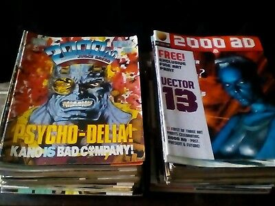 2000 AD x 100 ISSUES LOT