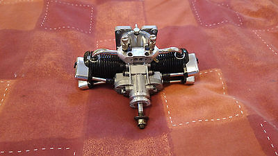 Saito FA-100T 52 62 90 91 100 Four stroke TWIN cylinder airplane engine SP£550!