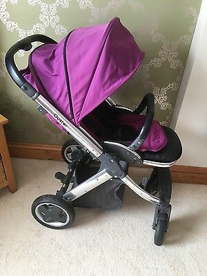 Babystyle Oyster Grape Travel System Single Seat Stroller