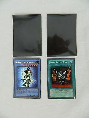 Yu-Gi-Oh Cards Rare Black Luster Ritual - Black Luster Solider And Two Sleeves
