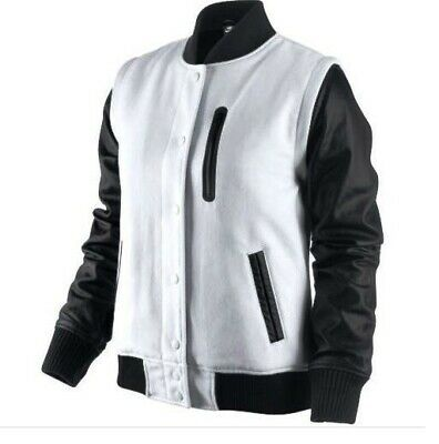 Nike Wool Destroyer Black S Varsity White Jacket Nsw Leather 4AR3c5SjLq
