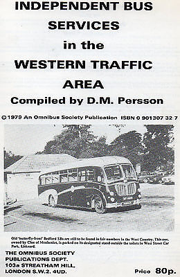 Independent Bus Services in the Western TA