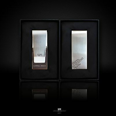Stainless Steel Money Clip in Gift Box - by LOUBAL-REICH