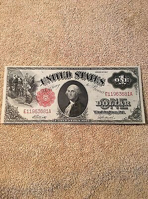 1917 $1 One Dollar United States Note UNC Condition