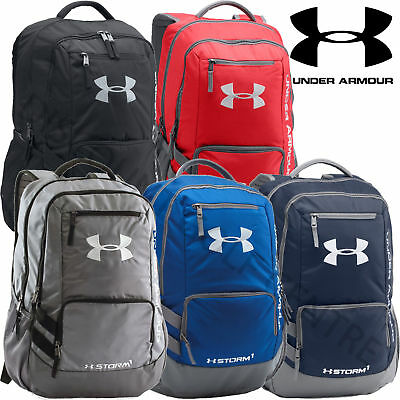 Under Armour 2017 UA Hustle II Backpack Rucksack Gym Travel School Bag - 1263964