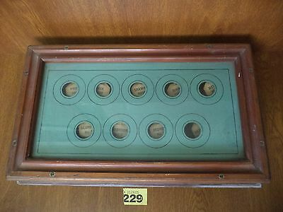 Vintage Butlers / Servants Bell Box for 9 Rooms