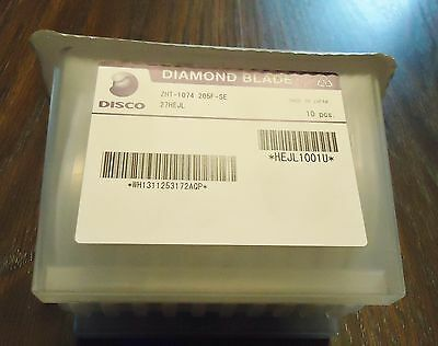 Disco 10 New Wafer Diamomd Blade Zht-1074 205F-Se 27Hejl Made In Japan