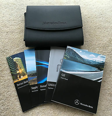 Mercedes Ml Facelift Gle Class Genuine Owners Manual Handbook Pack 2015 #3391