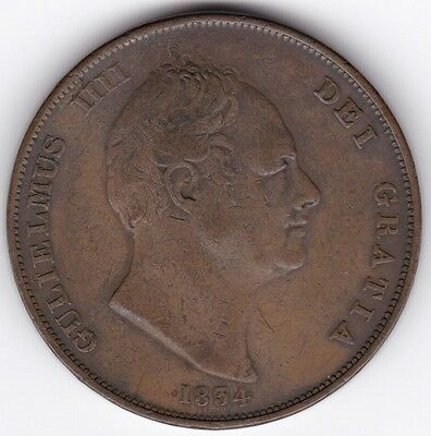 1834 William IV One Penny***Collectors***