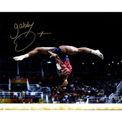 Gabby Douglas Autographed Signed 16x20 Olympics Photo! Steiner Sports
