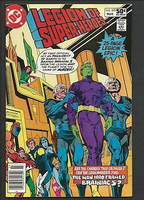 1981 DC The Legion of Super-Heroes #273 NM 9.4