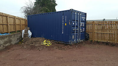 2015 shipping Container 20 ft **NO VAT** FREE DELIVERY