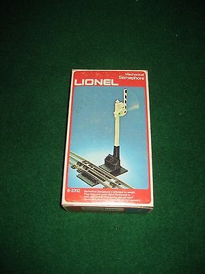 LIONEL 6-2312 MECHANICAL SEMAPHORE in BOX