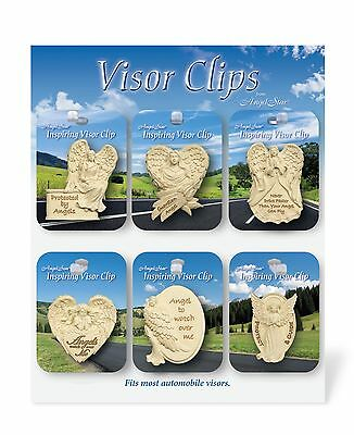 AngelStar Visor Clips Resin 36 assorted with Display