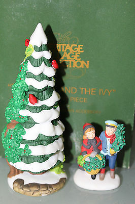 """Department 56 Heritage Village Collection 1997 Event """"THE HOLLY AND THE IVY"""""""