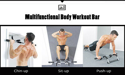 Multifunctional Chin-Up Pull-Up Push-up Sit-up Dip Bar Upper Body Workout Bar
