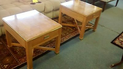 Mid-Century Modern / Hollywood Regency Nightstands / End Tables by Thomasville