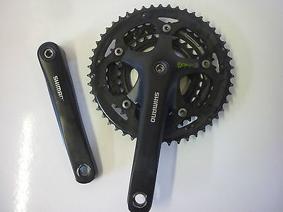 Pedalier Shimano R-453 Triple 50/39/30 Octalink 170Mm Chainset *vgc*