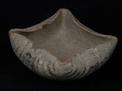 "Indus Valley Teracotta Painted Lamp C.2500 Bc   """"t15557"""""