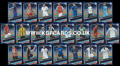 Champions League Match Attax 16/17. Full Set Of All 22 Man Of The Match Cards