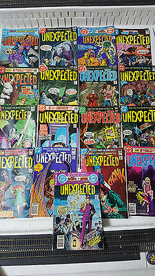 Large Lot of 17 Unexpected Comic Books - Good Condition