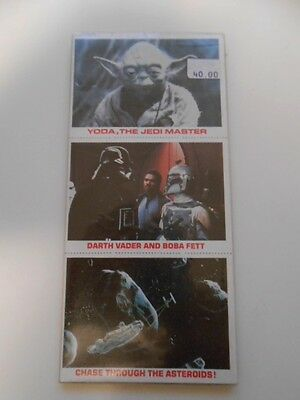 Star Wars Empire original Burger King limited issued cards set 1981