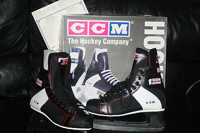 Patins À Glace Hockey Ccm Fusion 32 Taille 44 Neufs