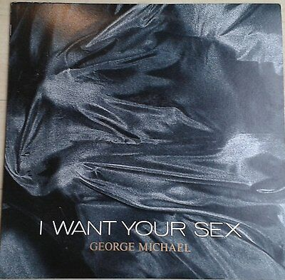 """GEORGE MICHAEL-I WANT YOUR SEX  (EPIC12"""") Japanese Release"""